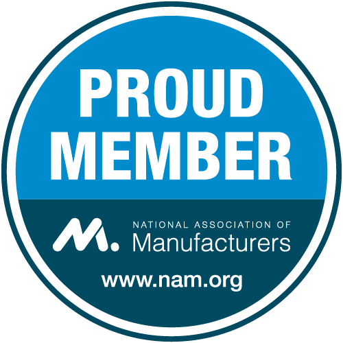 National Association of Manufacturers membership badge